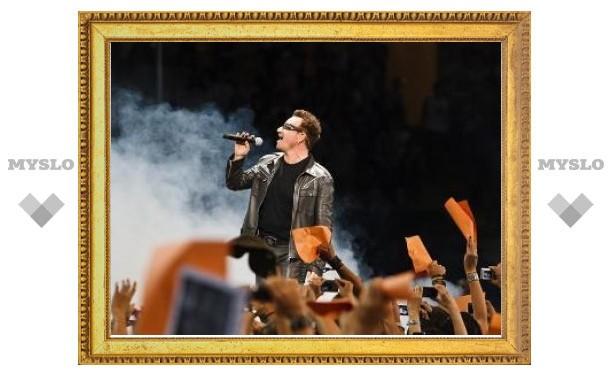 U2 представили новые песни на первом после перерыва концерте
