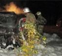 Ночью в Малахово сгорела отечественная «десятка»
