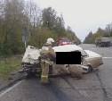 В Новомосковском районе в аварии погибли три человека