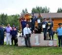 Кинолог тульского МЧС отличилась на соревнованиях в Рязани