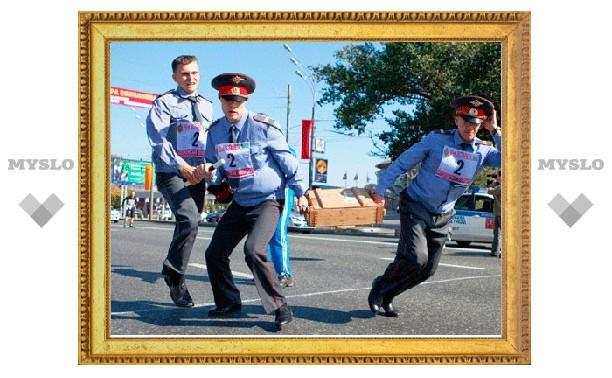 Тульская полиция провела соревнования по легкой атлетике