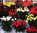 8 марта в Туле заработали цветочные ярмарки