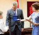 Павел Астахов наградил туляка Мишу Ракова за храбрость