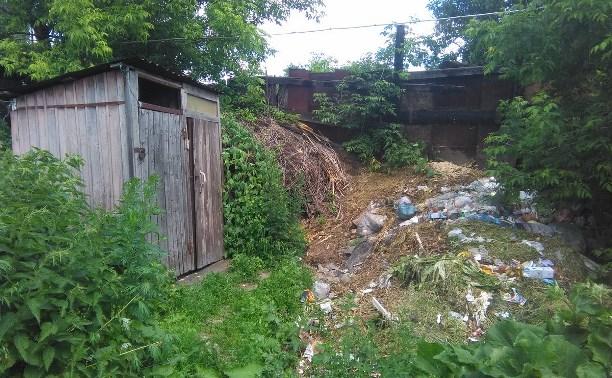 Администрация Тулы пригрозила штрафом УК «Фасад будущего» за невывезенный мусор