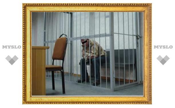 Житель Щекина получил три года колонии за избиение милиционера