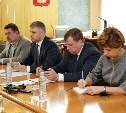 Алексей Дюмин провел рабочую встречу с президентом ОАО «Российские железные дороги»