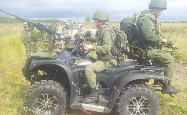 Тульские военные впервые десантировали квадроциклы