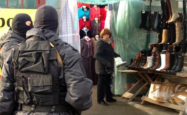 Территория Центрального рынка оцеплена полицией