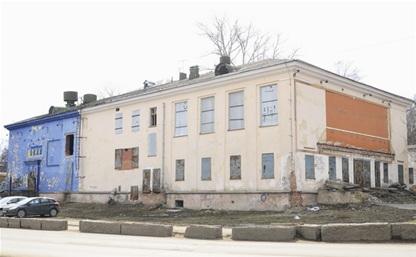 """Бывший кинотеатр """"Космос"""" снесут в апреле"""