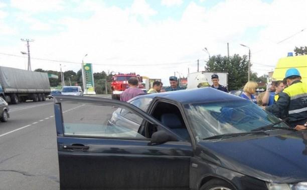 В аварии в Иншинке пострадали два человека