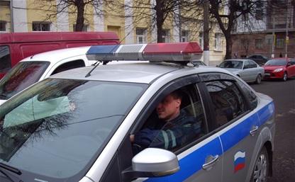 Пьяный водитель протаранил машину сотрудников ГИБДД