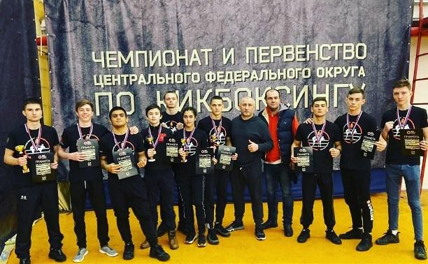 Тульские кикбоксеры выиграли чемпионат и первенство ЦФО