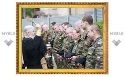 Тульские омоновцы отправились в Чечню