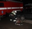 """Возле ТЦ """"Лагуна"""" собралось сразу несколько пожарных машин"""