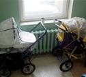 В Туле ночью украли две детские коляски