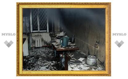 Под Тулой сын спалил мать