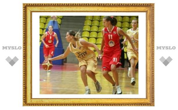 Тульские баскетболистки одержали победу