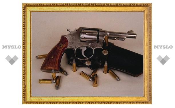 Под Тулой у слесаря предприятия нашли револьвер
