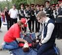 В Центральном парке более тысячи юных туляков научились спасать жизнь