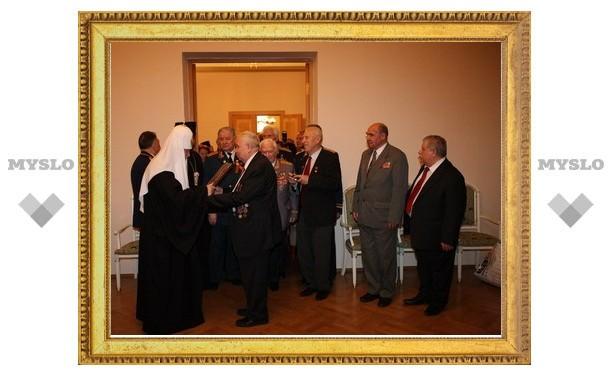 Патриарх Кирилл встретился с ветеранами Великой Отечественной войны