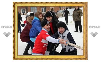 В Туле оттепель, а в Новомосковске русская зима