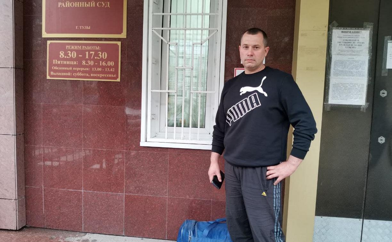 В Туле судят мужчину за кражу ничейных бордюров