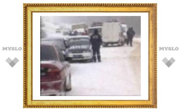 В Туле опять сбили пешехода