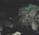 Ночью на М4 столкнулись два грузовика