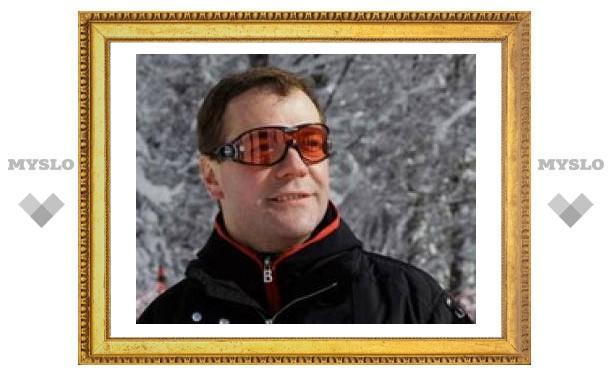 Медведев доволен предвыборной кампанией в Сочи