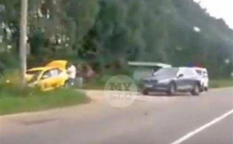 В Ясногорске в ДТП пострадала пассажирка такси