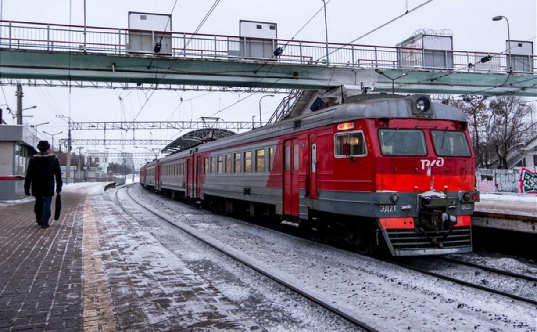 Электричку «Тула – Москва» остановили из-за подозрительной сумки