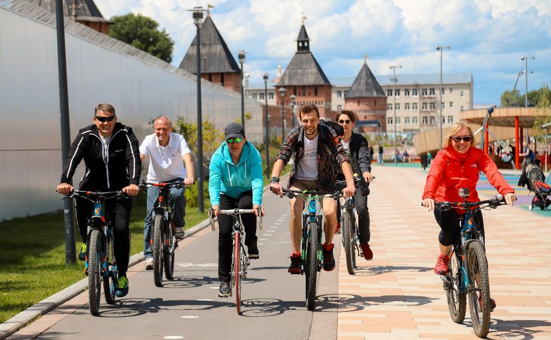 11 километров на велосипеде: в Туле веломаршрут свяжет Центральный парк и Баташевский сад
