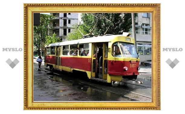 В Туле трамвай переехал ребенка