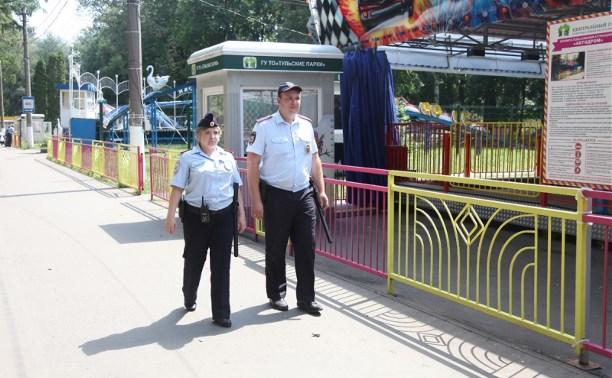За весенне-летний период полицейские выявили в тульских парках более 600 нарушителей
