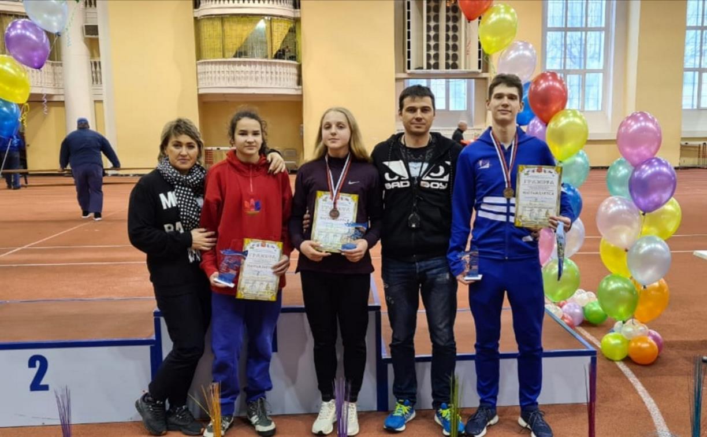 Тульские спортсмены завоевали три медали на Кубке академии легкой атлетики