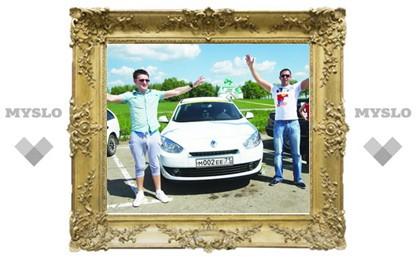 Тульские водители устроили «Драйв-тест»