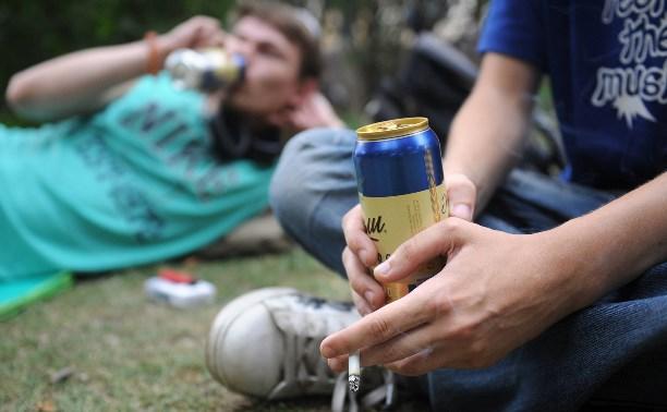 За неделю полицейские составили 804 протокола за распитие алкоголя в общественных местах