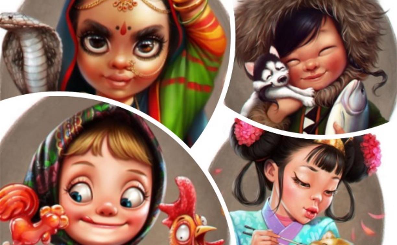 10 красавиц: известная на весь мир тулячка Лера Кирьякова создала классную серию иллюстраций