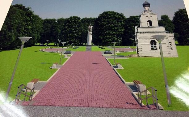 В Тесницком лесу появится мемориальный комплекс