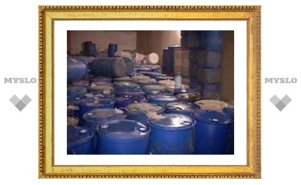 Тульские милиционеры изъяли 40 тонн спирта