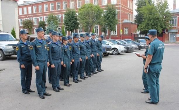 Тульское МЧС пополнят новые сотрудники