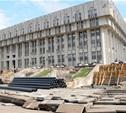 Новые фонтаны у «белого дома» сделают ко Дню города