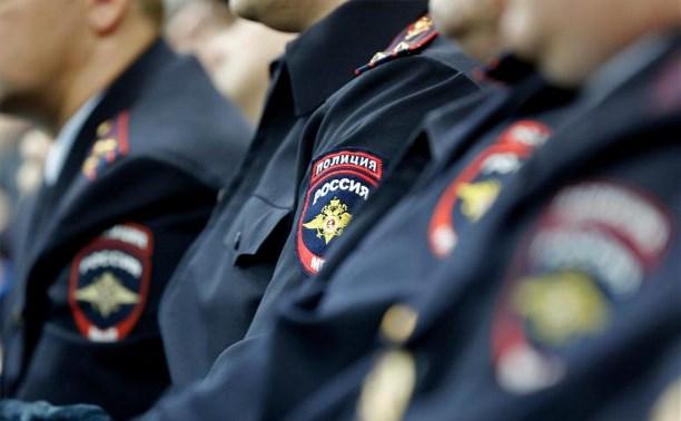 На Рождество порядок в Тульской области будут обеспечивать более 400 полицейских