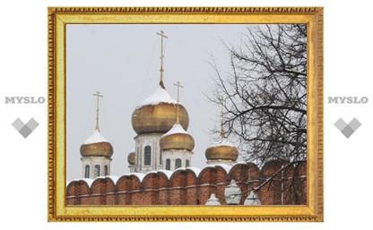 Колокольню в Тульском кремле построят ко Дню города