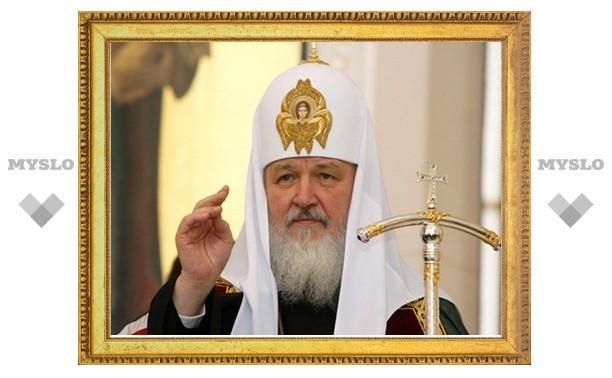 Патриарх Кирилл поздравил Собянина с избранием на пост мэра Москвы