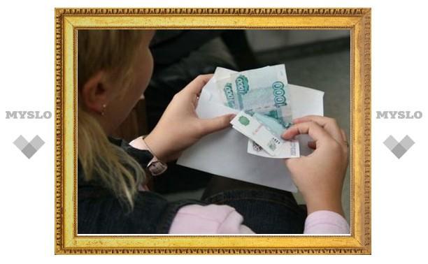 Долг по зарплате перед туляками увеличился втрое
