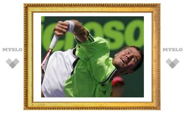 Сафин вылетает в первом же круге на четвертом теннисном турнире подряд