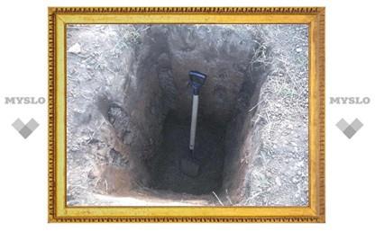 Под Тулой двое мужчин убили собутыльницу и закопали ее в лесу