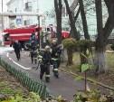 В школе поселка Первомайский потушили условный пожар: фоторепортаж