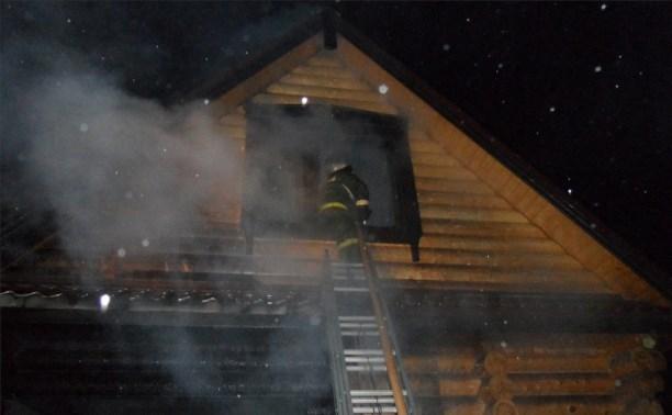 В Туле мужчина поджёг чужую баню за то, что ему не заплатили за работу